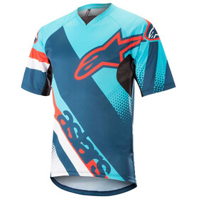 Alpinestars Racer Bike Jersey Shortsleeve Men blue/turquoise